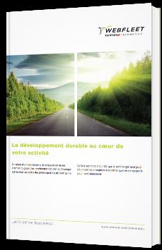 Le développement durable au cœur de votre activité