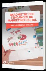 Baromètre des tendances du marketing digital sur les réseaux sociaux