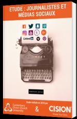 Etude : Journalistes et Médias sociaux 2016