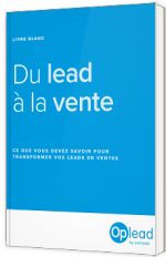 Lead Management - Du Lead à la Vente