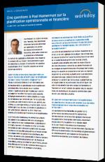 Cinq questions à Paul Hamerman sur la planification opérationnelle et financière