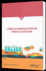 4 modèles d'annonces pour vos véhicules d'occasion