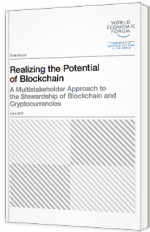 Realizing the potential of Blockchain - a Multistakeholder approach to the stewardship of Blockchain and Cryptocurrencies