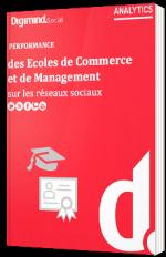 Performance des écoles de commerce et de management sur les réseaux sociaux