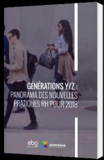 Générations Y/Z : Panorama des nouvelles pratiques RH pour 2018