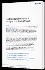Guide du conditionnement du signal pour ingénieurs