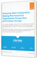 Enterprise Work Collaboration : Helping pharmaceutical organisations escape silos and embrace synergy