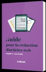 Guide pour la rédaction d'articles web - Les formats