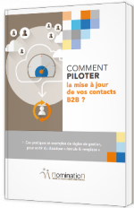Comment piloter la mise à jour de vos contacts B2B ?