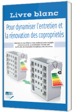 Livre blanc pour dynamiser l'entretien et la rénovation des coproprietés