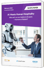 AI Meets Human Hospitality - Who will run our hotels in 25 years – Humans or Robots?