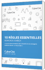 10 règles sur Adwords search