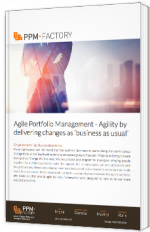 "Agile Portfolio Management - Agility by delivery changes as ""business as usual"""