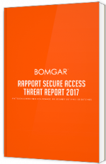 Rapport Secure Access Threat Report 2017