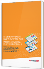 Le développement d'applications : sur mesure ou via une plate-forme BPM ?