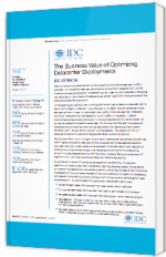 The Business Value of Optimizing Datacenter Deployments