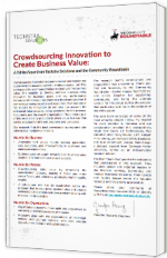 Crowdsourcing Innovation to Create Business Value