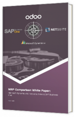 Comparatif des logiciels MRP pour PME : Microsoft Dynamics AX, Sap Business One, Netsuite & Odoo
