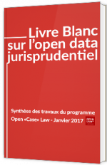 Livre blanc sur l'open data jurisprudentiel