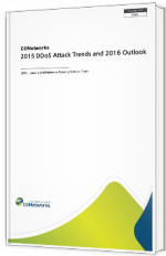 2015 DDoS Attack Trends and 2016 Outlook