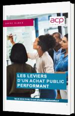 Les leviers d'un achat public performant