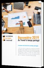 Baromètre 2019 du Travail à temps partagé