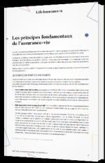 Les principes fondamentaux de l'assurance-vie