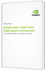 NVIDIA DGX-1 With Tesla V100 System Architecture