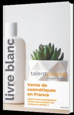 Vente de cosmétiques en France