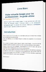 Visite virtuelle Google pour les professionnels : le guide ultime