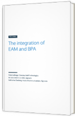 The integration of EAM and BPA