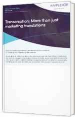 Transcreation: More than just marketing translations