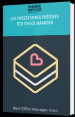 Les prestataires préférés des office manager
