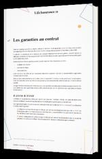 Nantissement, délégation de créance, cession de droit : les garanties au contrat d'assurance-vie