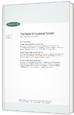 The power of customer context