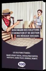 Benchmark des solutions d'animation et de gestion des réseaux sociaux