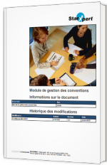 Module de gestion des conventions Informations sur le document
