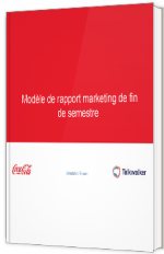 Modèle de rapport marketing de fin de semestre