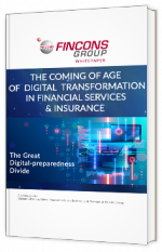 The coming of age of Digital Transformation in Financial Services & Insurance