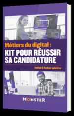 Métiers du digital : kit pour réussir sa candidature