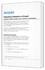 Migrating a Website to Drupal