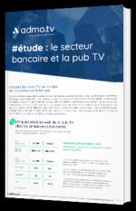 #étude : le secteur bancaire et la pub TV