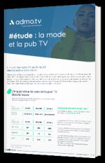 #étude : la mode et la pub TV