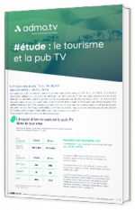 #étude : le tourisme et la pub TV