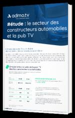 #étude : le secteur des constructeurs automobiles et la pub TV