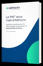 Le PAF sous l'œil d'Admo.tv : performances des programmes TV, spécial Bricks & Mortar