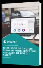 12 raisons de choisir DigDash pour créer vos tableaux de bord agiles