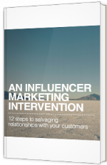An influencer marketing intervention