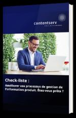 Checklist : améliorer vos processus de gestion de l'information produit