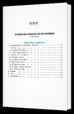 Modèle de cahier des charges de site Internet